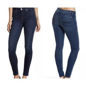 Seven7 for all mankind gwenevere skinny jeans  29
